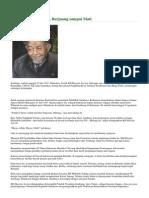 Wafatnya KH Hasyim Asy'Ari