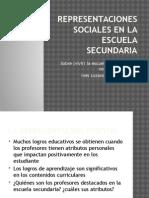 Representaciones sociales en la Escuela Secundaria.pptx