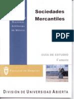 Sociedades Mercantiles 4 Semestre UNAM SUA Facultad de Derecho Guía de Estudio Actividades de Aprendizaje