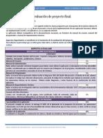 Lista de Cotejo de Proyecto de Programación III Microacademia
