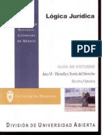Logica Juridica 8 Semestre Derecho Facultad de Derecho UNAM SUA Actividades de Aprendizaje