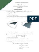 Clase 13 e1 Distribucion Conjunta Continua