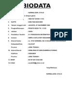 Form Biodata 2014