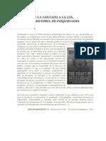 Ángel C. Colmenares E. - DE LA GESTAPO A LA CIA, UNA HISTORIA DE INIQUIDADES