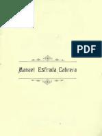 Biografia Manuel Estrada Cabrera