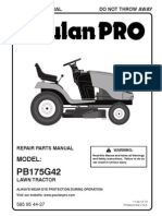 Lawn Tractor Ppoi2013 Naennaes Pb175g42 585954427