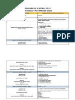 Praogramacion Actividades 2015-1