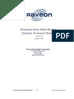 Fireline Data Radio Modem - System Protocol Manual