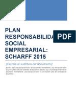 PLAN de TRABAJO Responsabilidad Social Shcarff