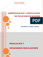 Administracion y Regulacion