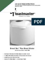Maquina de Pan - Toast master