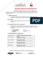Nacional de Invierno Infantil 2015