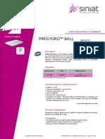 Fiche Produit-Prégydro BA13