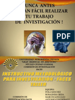 Presentación de Metodología de Investigación Documental