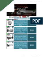 Lista de Precios Camaras Turbo Hikvision