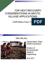 Fraserwaste Heat System Design Considerations