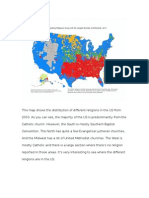 us religions map