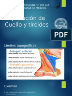 Exploración de Cuello y Tiroides