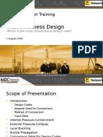 2 - NRG - Wall Thickness Design
