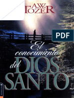 A.W.+Tozer+El+Conocimiento+del+Dios+Santo