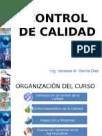 Control de Calidad 2015