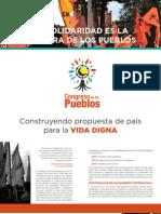 Cartilla Internacional Congreso de Los Pueblos