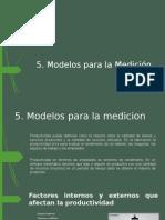 Modelos Para La Medicion