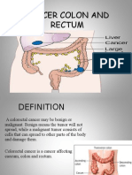 CANCER COLON AND RECTUM (WARDAH).ppt