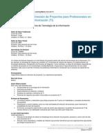 2. Introducción a La Dirección de Proyectos Para Profesionales en Tecnología de La Información (TI)