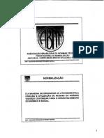 ABNT - CB 29 - A Normalização No Setor de Celulose e Papel