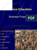 DIstance Education Business Proposal FINAL