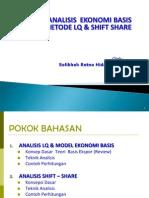 LQ Dan Shift Share