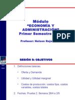 SESION 05 Economia y Administracion 2014
