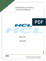 batch Determination in Inventory Management