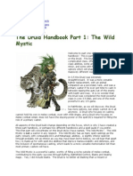 Druid Handbook Part 1_ the Wild Mystic - Έγγραφα Google