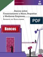 Resultados Encuesta Bancos Financiamiento Micro Pequeñas Medianas Empresas