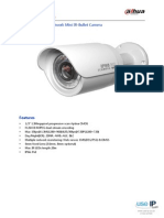 Dahua Ipchfw2100p 13mp Hd Network Mini Irbullet Camera