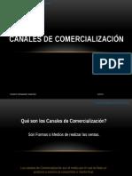 Canales de Comercialización