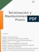 1.- Terminacion y Mtto de Pozos Control de Pozos