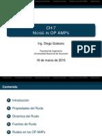Lecture 8 - Ruido en OP AMPs