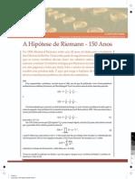 Função Zeta de Riemann
