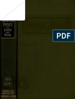 SlaterFrank IntroductionToTheoreticalPhysics Text
