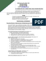 Resume 2010-1-31