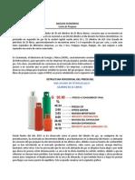 Análisis Económico de Gas Propano Guatemala