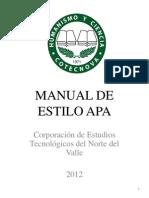 Manual de Estilo Apa-2012