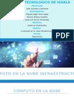 Cómputo en La Nube Infraestructura
