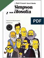 Los Simpsons y La Filosofia