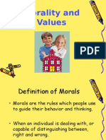 Moral Values PPT