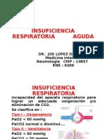 Clase - Insuficiencia Respiratoria Aguda