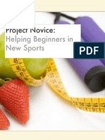 project novice-helping beginners in sports
